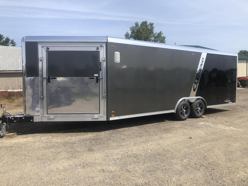 2020 Legend Manufacturing Trailmaster 8.5x28 Snowmobile Trailer