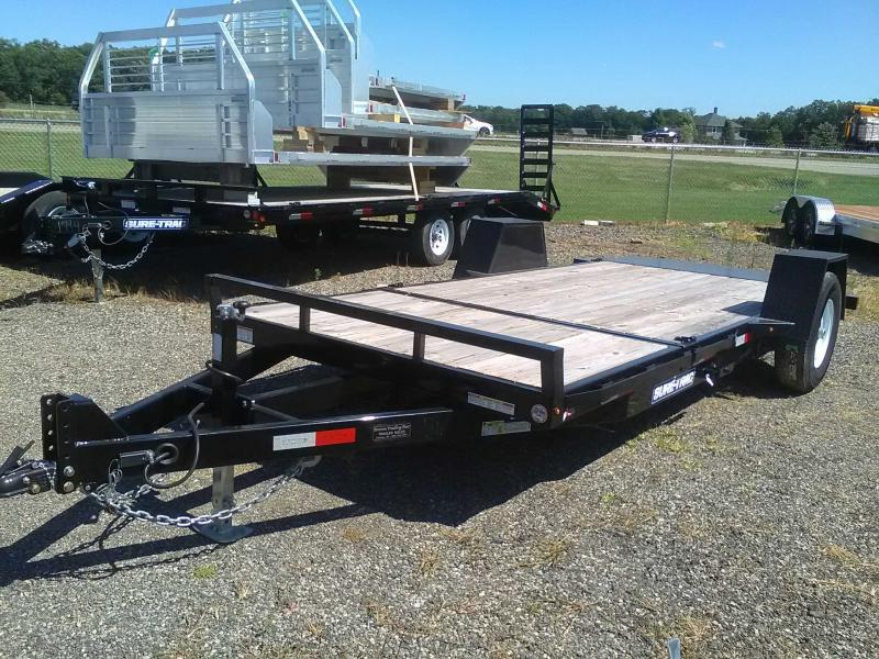 2018 Sure-Trac 6.5X12+4 Tilt Equipment Trailer