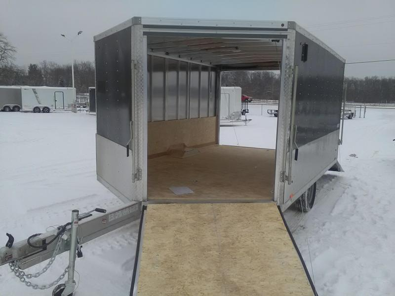 2019 Look Trailers AEDFT85X12SE2 Snowmobile Trailer