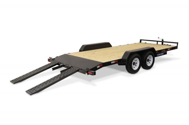 2020 Sure-Trac 7 X 18 Wood Deck Car Hauler  7k