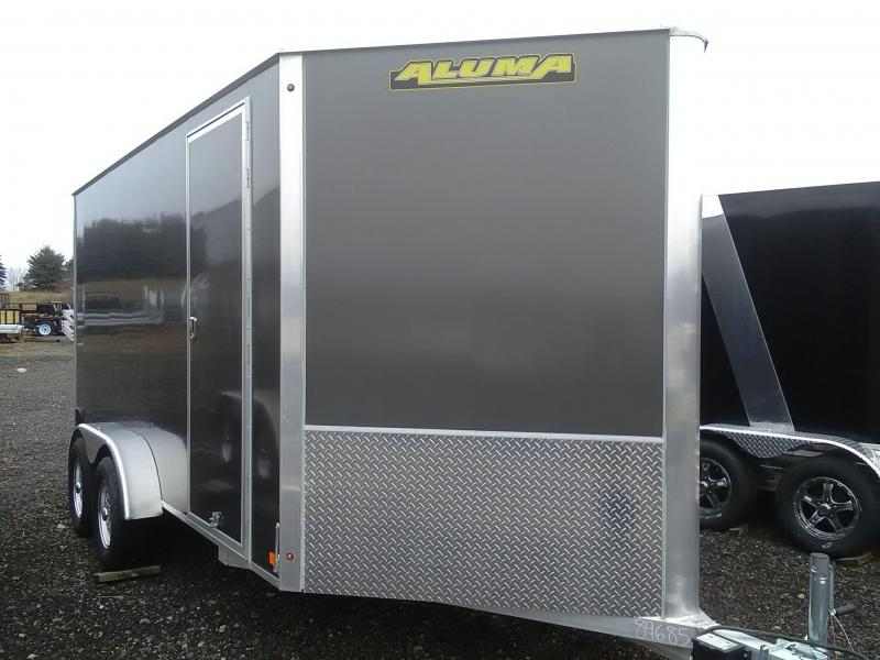 2019 Aluma AE714TAR Enclosed Cargo Trailer