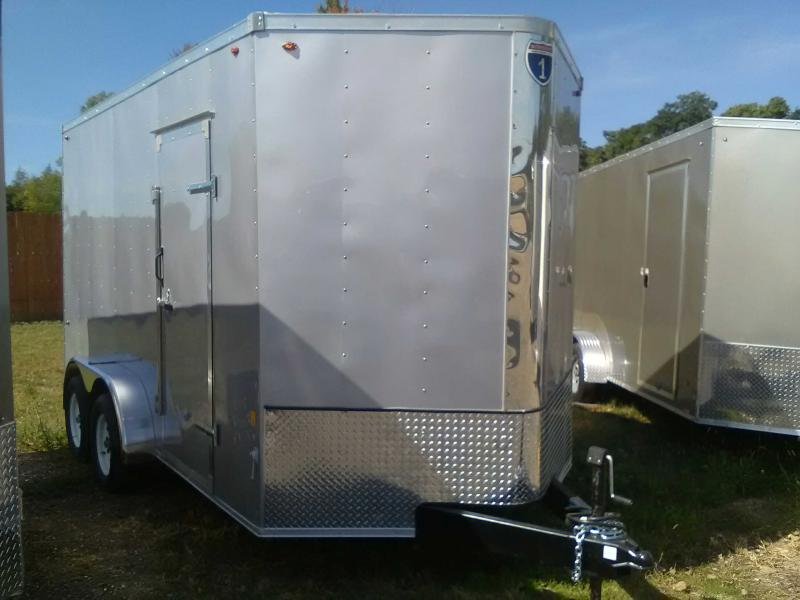 2020 Interstate 7x14 Enclosed Trailer