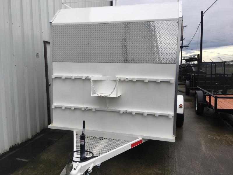 2018 R J Trailers Inc 7x12 enclosed trailer Enclosed Cargo Trailer