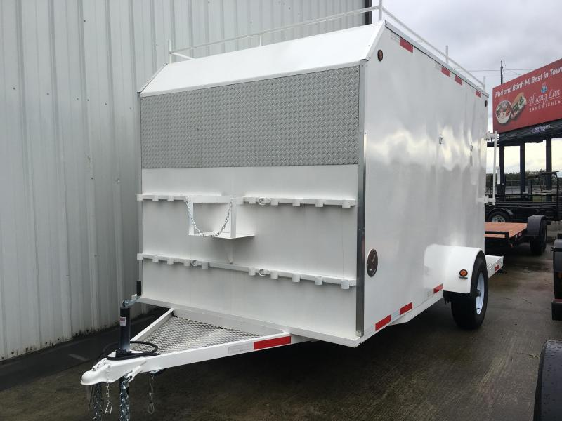 2019 R J Trailers Inc 7x12 enclosed trailer Enclosed Cargo Trailer