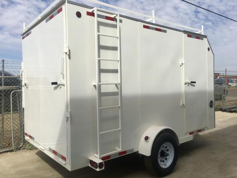 2019 R&J 7x12 Enclosed trailer