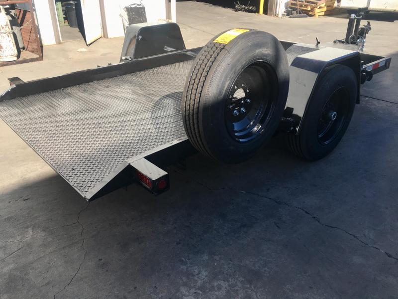 2019 R&J 6x12 8k Tilt bed  LOW PRO
