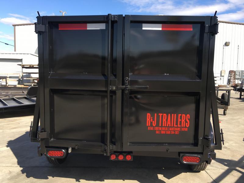 2019 R J Trailers Inc 5x10 7k dump Dump Trailer