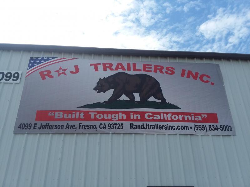 2019 R J Trailers Inc 4x8 2.9k Utility metal deck