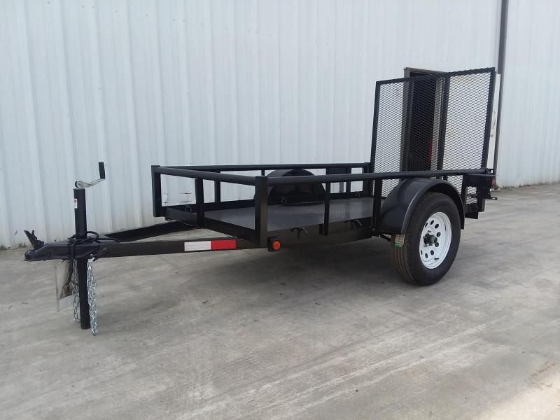 2017 R J Trailers Inc 4x8 2.9k Utility metal deck