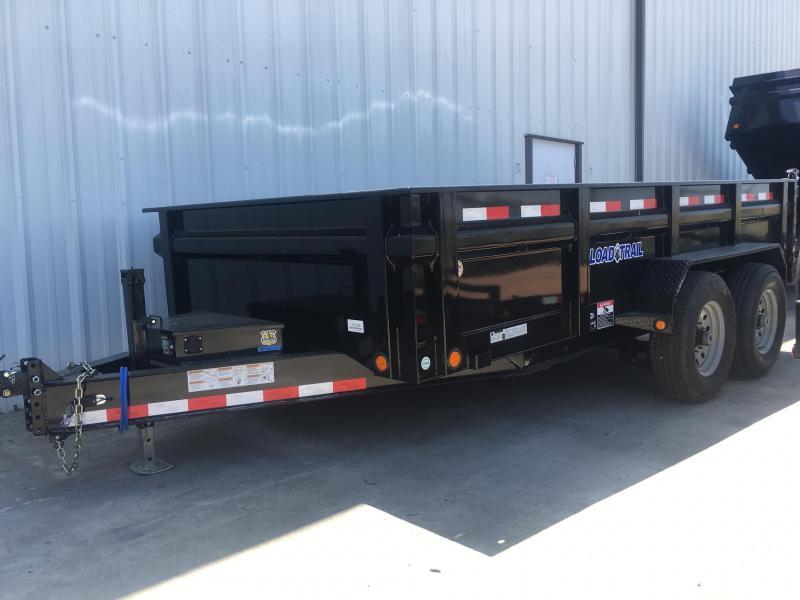2018 Load Trail 7x14 14k DUMP TRAILER DROP AXLE