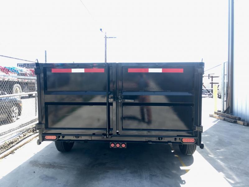 2019 R&J Trailers Inc 7x14 14k  Dump Trailer 3' walls