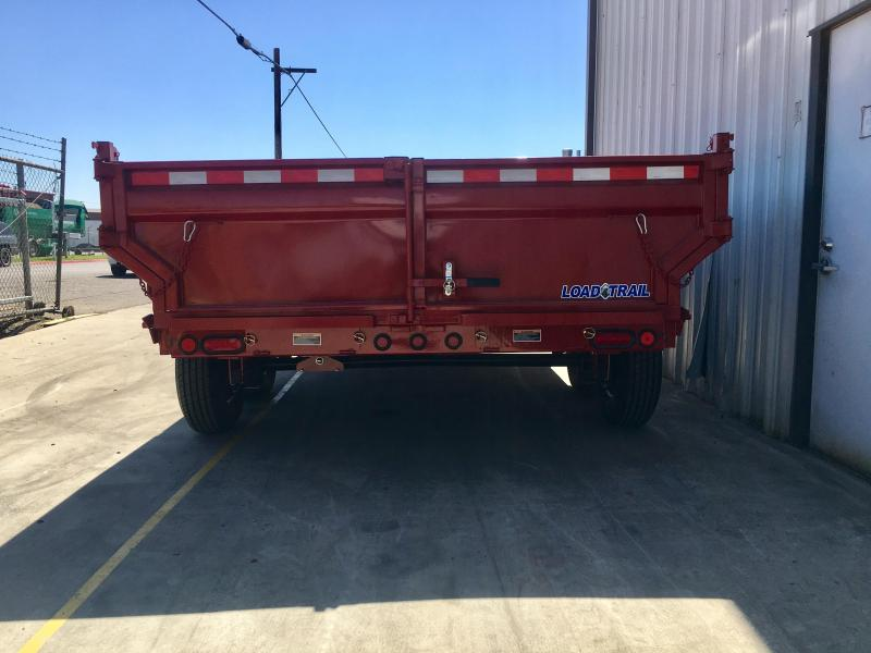2018 Load Trail 7x14 14k KING SIZE BED DUMP