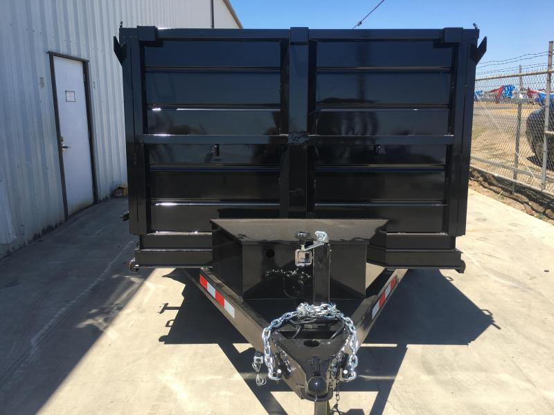 2019 R and J Trailers Inc 6X12 10K DUMP TRAILER