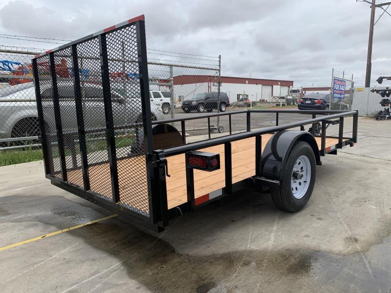 2019 R&J 6x12 w/ drop axle 2.9k Utility Trailer