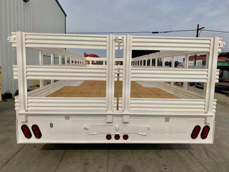 2019 R&J 102'' x 24' 14k Deck Over Trailer