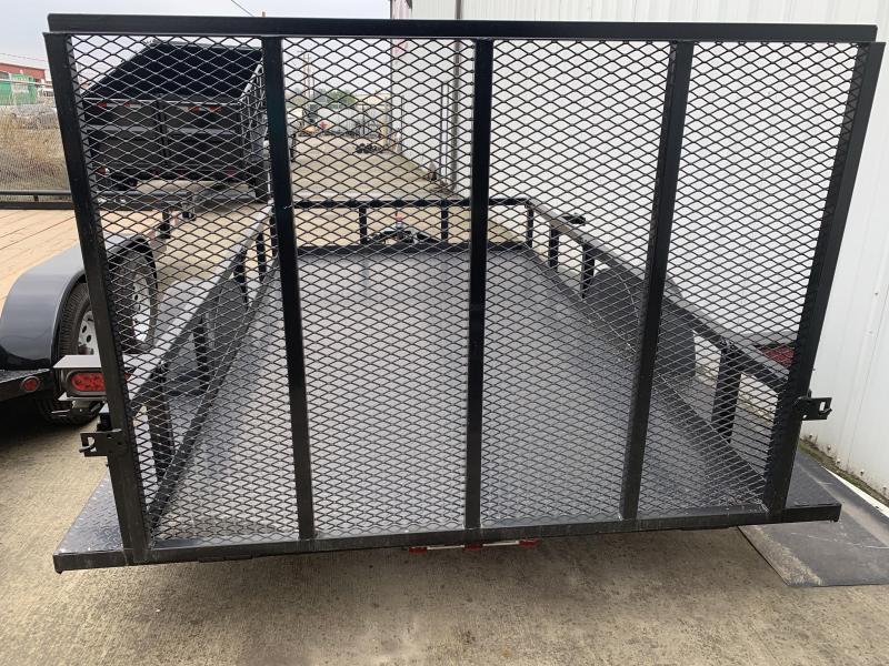 2018 R&J 5 1/2x10 Utility Trailer DP floor