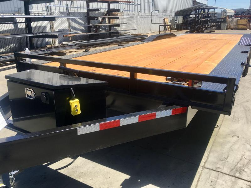 2019 R and J Trailers Inc 102''X28' 16k Tilt Bed Car Hauler