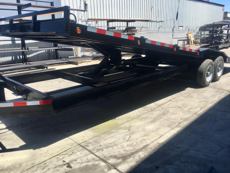 2019 R and J Trailers Inc 102''X28' 16k Tilt Bed Car Hauler