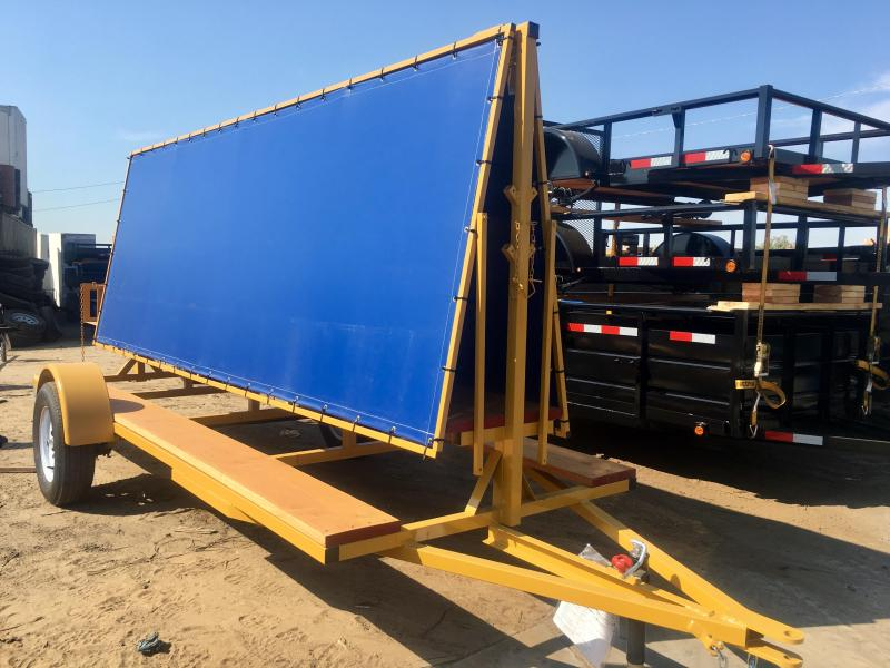 2019 R&J Trailers Inc 5x12 2.9k Shade Trailer