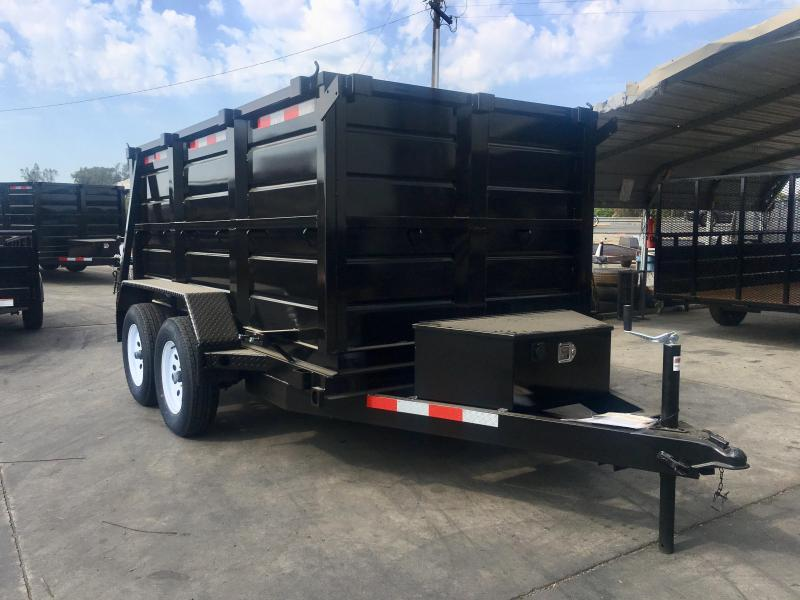 2019 R and J Trailers Inc 5X10 7K DUMP TRAILER 4' WALLS