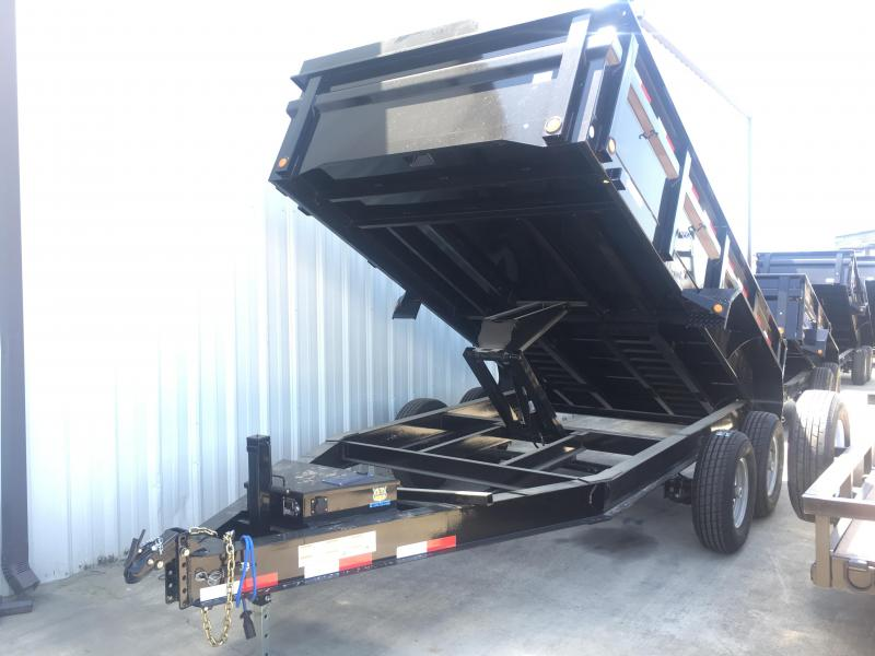 2018 Load Trail 7x14 14k DUMP TRAILER DROP AXLE