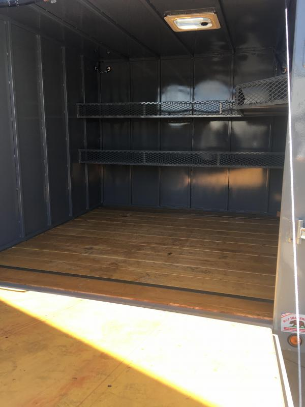 2019 R&J 8x15 Custom Enclosed/Dump Trailer