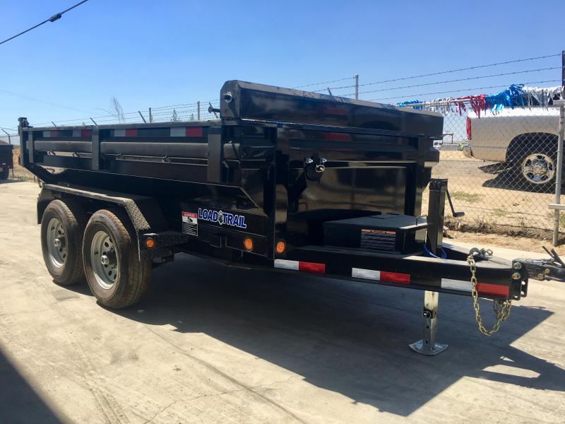 2018 Load Trail 5X10 10K DUMP TRAILER KING SIZE BED