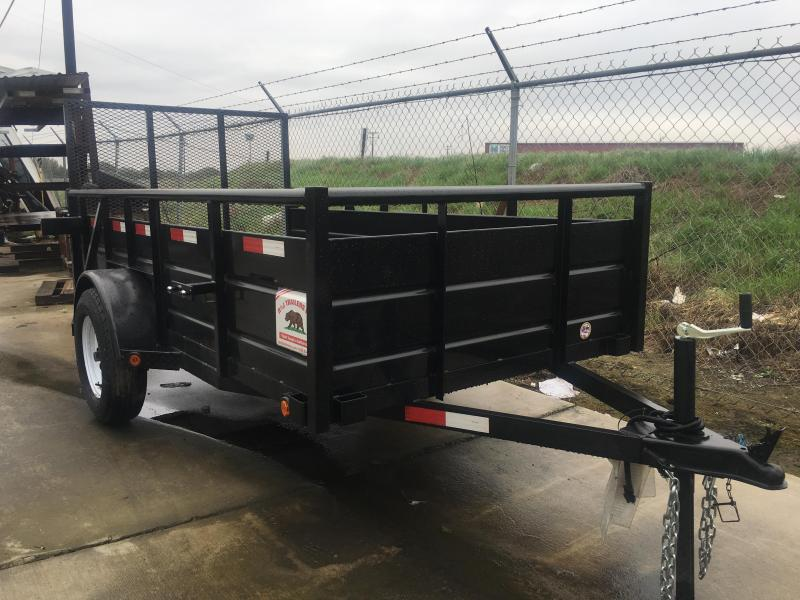 2019 R&J Trailers Inc 5x10 landscape 2.9k Trailer