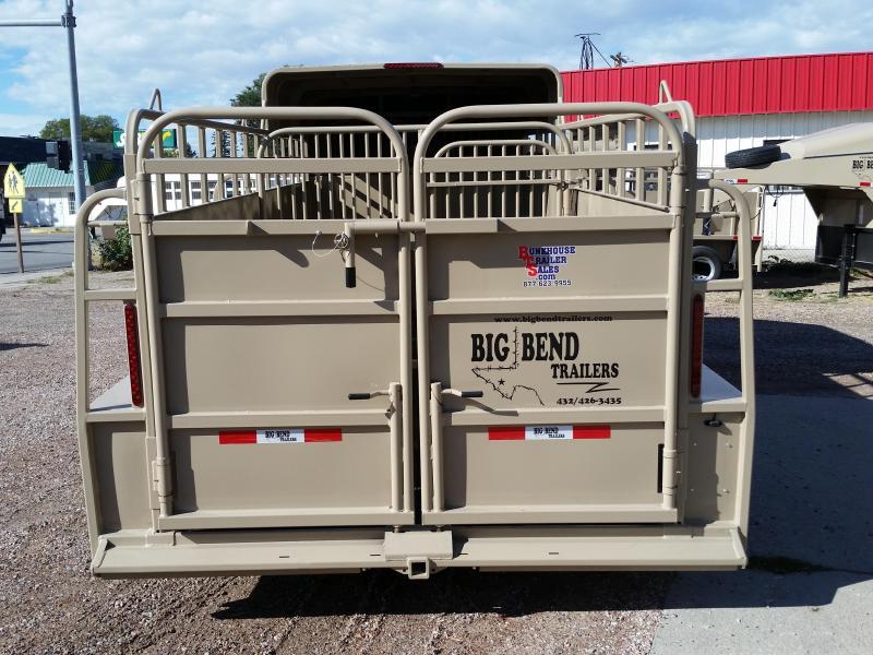 2019 Big Bend 20 3/4 TOP Livestock Trailer