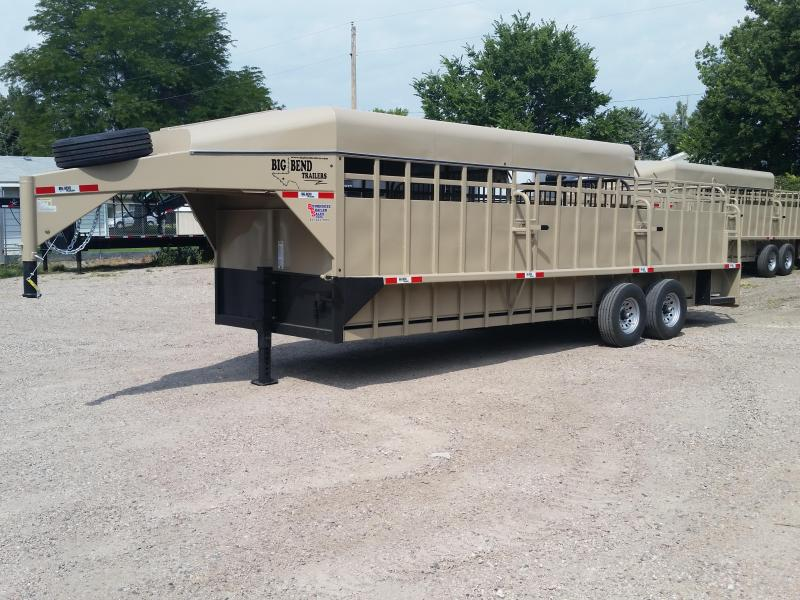 2019 Big Bend 24ft 3/4 top stock Livestock Trailer in Ashburn, VA