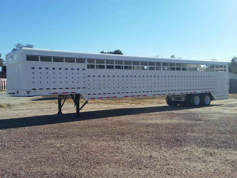 2019 Big Bend 53 GROUND LOAD Livestock Trailer