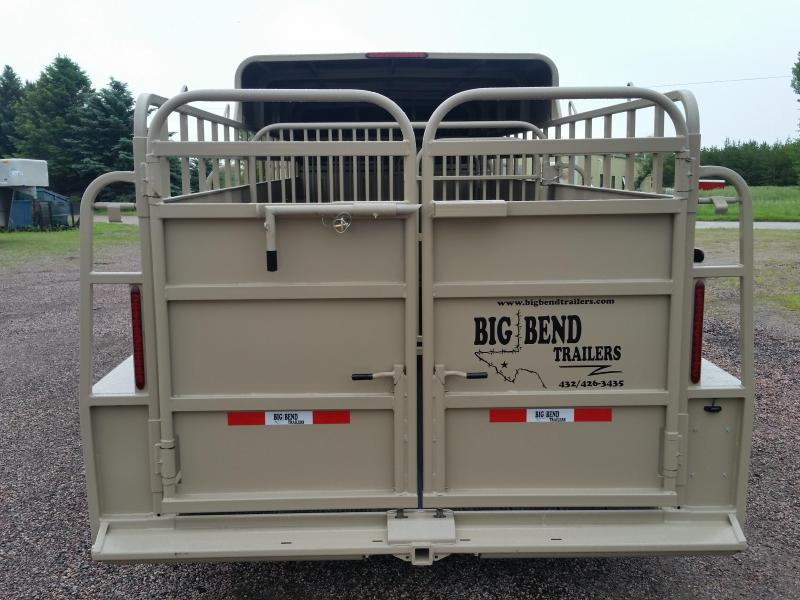 2019 Big Bend 24 3/4 TOP Livestock Trailer
