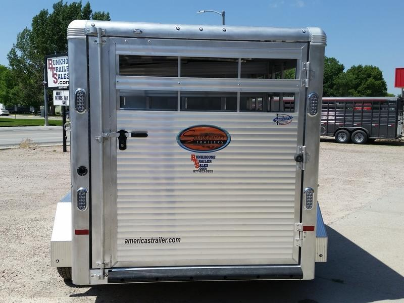 2019 Sundowner Trailers Rancher Express BP 16 Stock Combo Trailer
