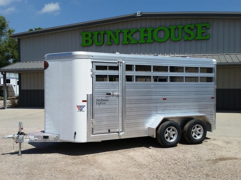 2019 Sundowner Trailers Rancher Express BP 16 Stock Combo Trailer in Ashburn, VA