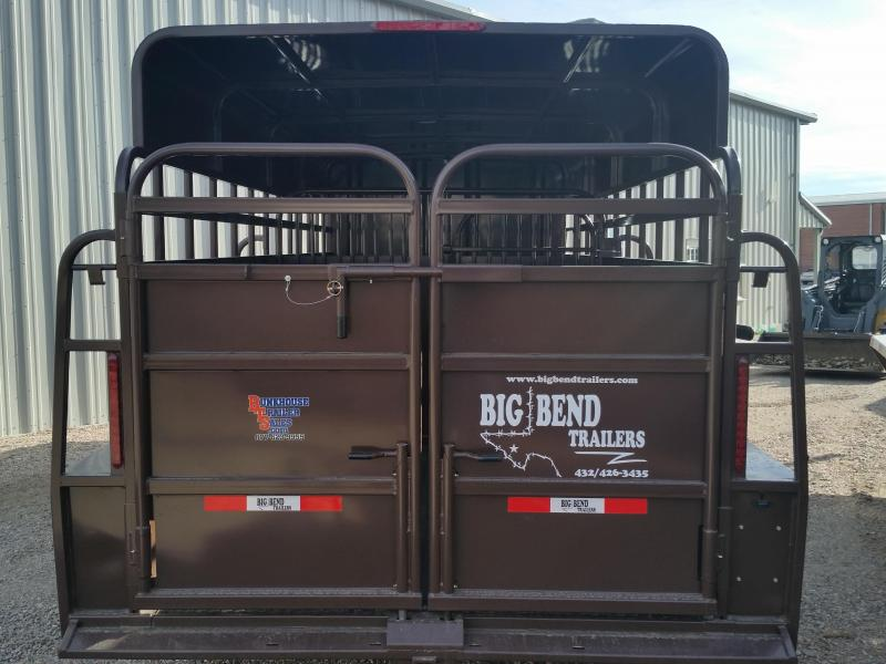 2019 Big Bend 20 STOCK COMBO Livestock Trailer