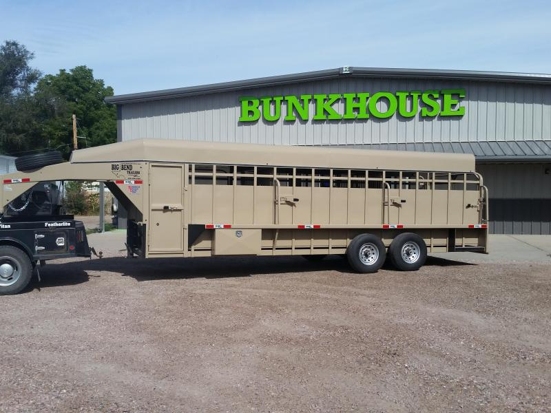 2019 Big Bend 24 FULL TOP Horse Trailer