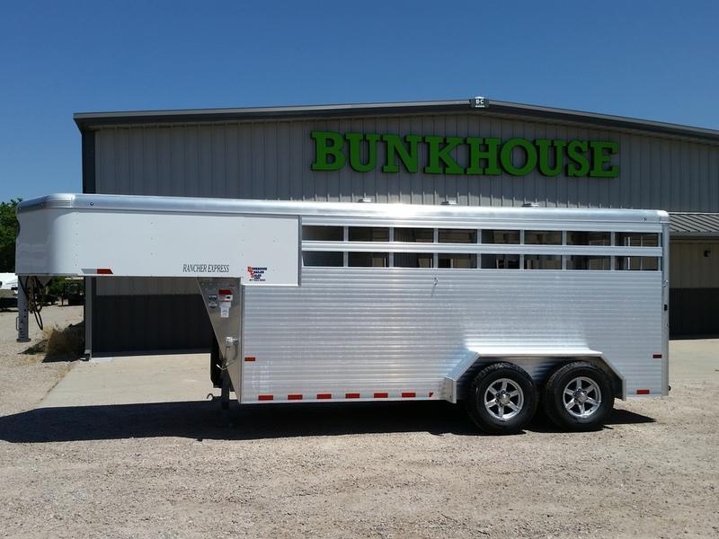 2019 Sundowner Trailers Rancher Express 16 Stock Combo Trailer