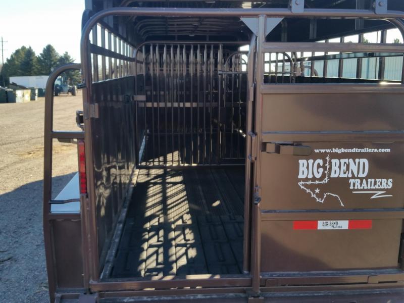 2019 Big Bend 24 FULL TOP Livestock Trailer