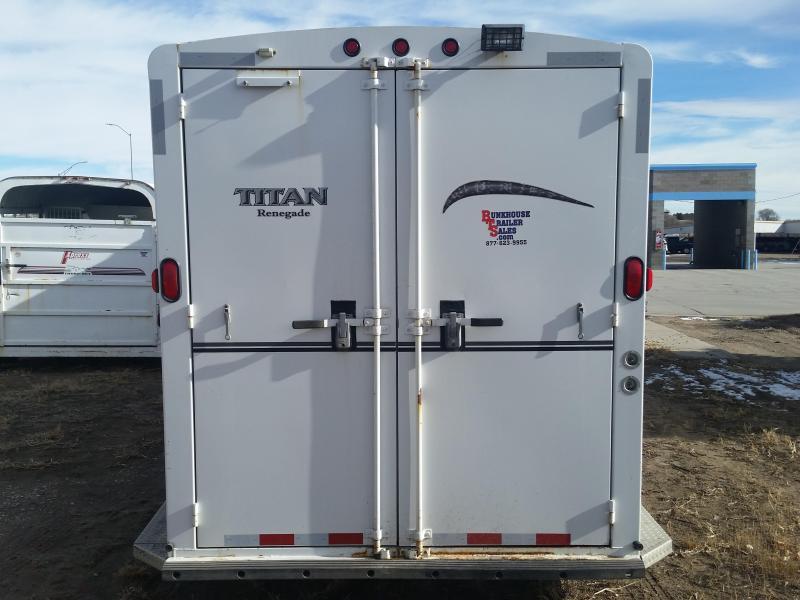 2007 Titan Trailers RENEGADE 4 HORSE Livestock Trailer
