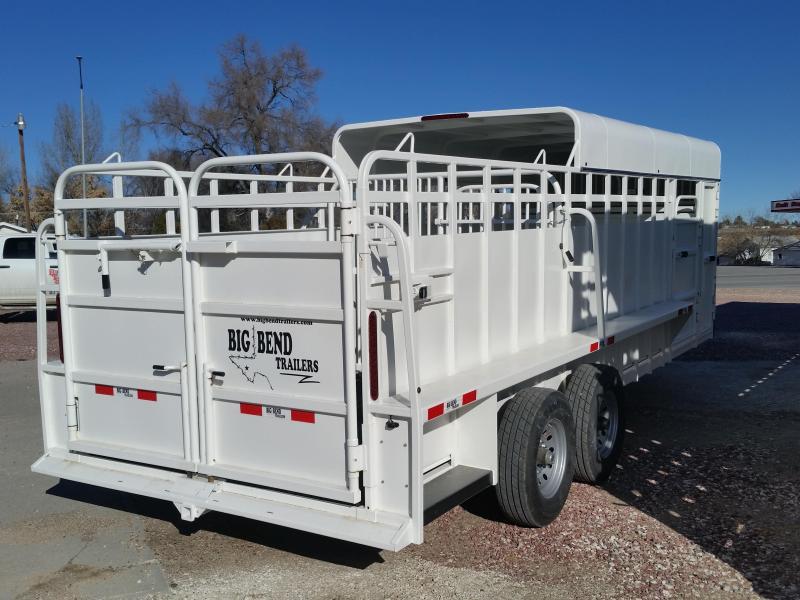 2019 Big Bend 22 3/4 TOP Livestock Trailer