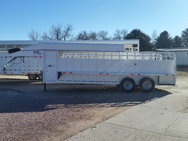 2019 Big Bend 22 3/4 TOP Livestock Trailer