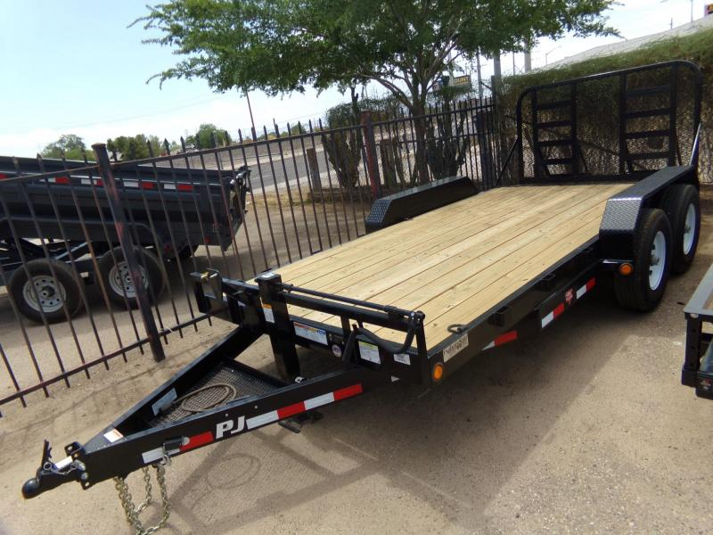 "83""x16' PJ Trailers Equipment Trailer"