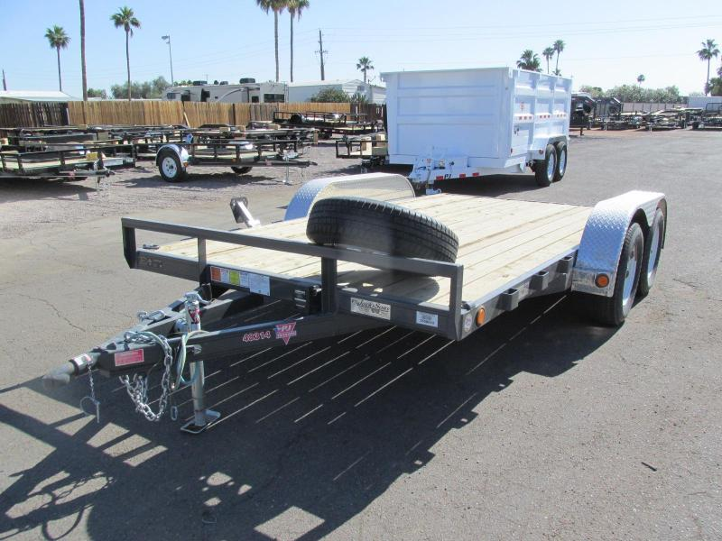 2017 PJ Trailers 83x14 Car / Racing Trailer
