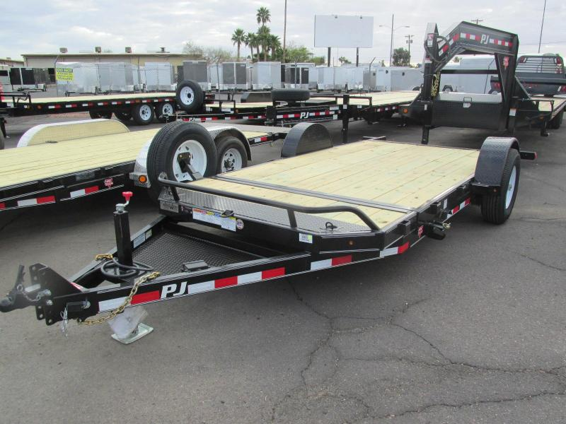 2018 PJ Trailers 13' Flatbed Trailer