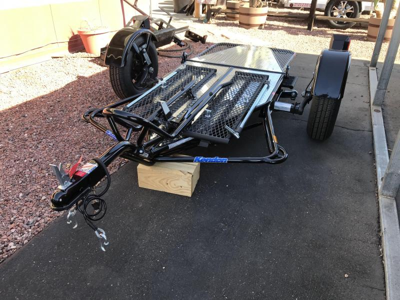 2020 Kendon 1 MOTORCYCLE Utility Trailer