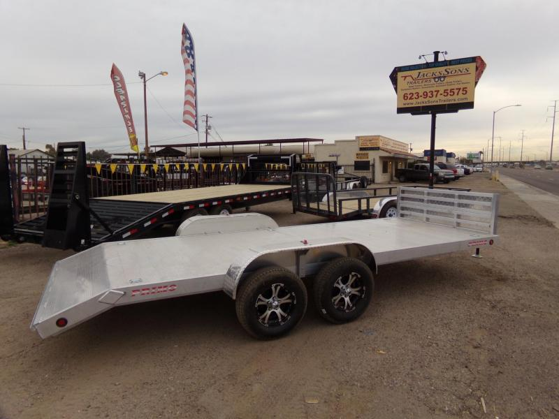 2019 Primo ALL ALUMINUM 18 FT UTV / CAR HAULER Car / Racing Trailer