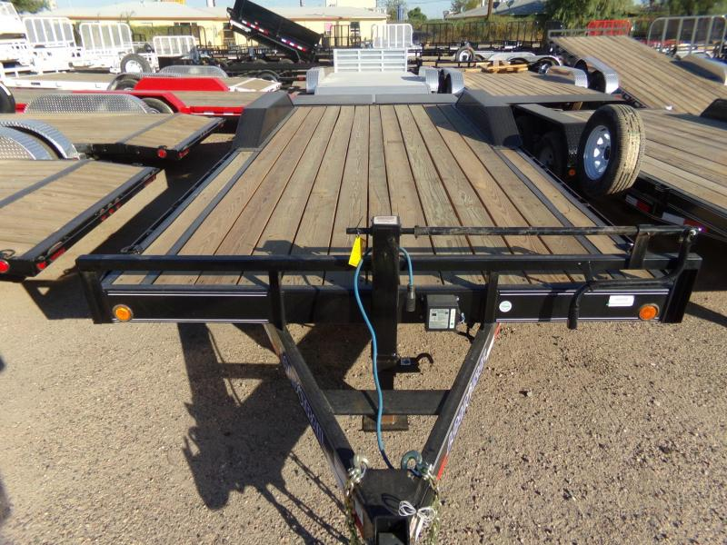 2019 Load Trail 20 X 102 HD MAX RAMPS CAR / EQIP. HAULER Flatbed Trailer