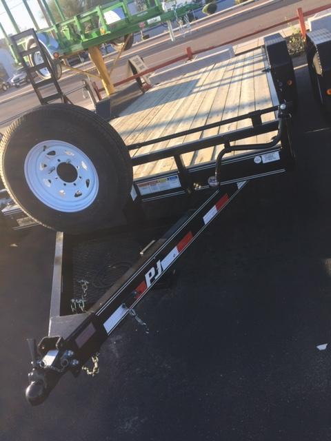 "2019 83""x20 PJ Trailers CC Equipment Trailer"