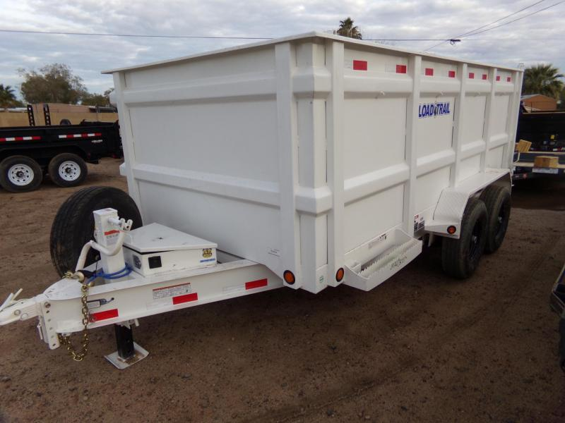 2019 Load Trail 4 FT. SIDE 83 X 14 TANDEM DUMP TRAILER Dump Trailer