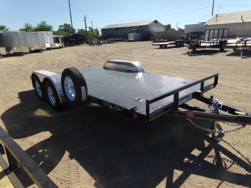 2019 PJ Trailers Car Hauler STEEL DECK Car / Racing Trailer